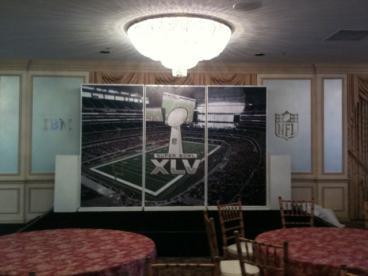 Event Graphics Dallas Super Bowl