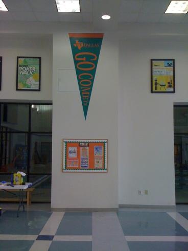 Indoor Signage UTD