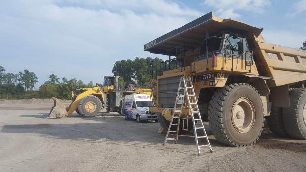 Heavy Mining Equipment Glass Replacement