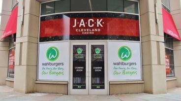 Wahlburgers Window Graphics