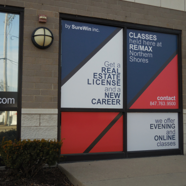 Re/Max Northern Shores Window