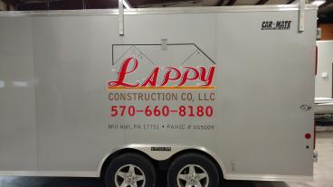 Lappy Construction Trailer