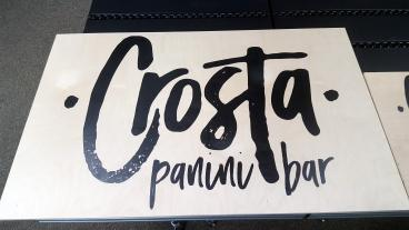 Crosta Panini Bar Berkeley sign