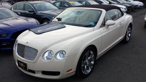 Here is a 2008 Bentley we repaired the other day.