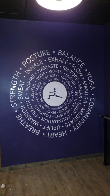Yoga Fit Wall Decals - Minneapolis, Eden Prairie, Roseville
