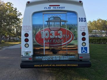103.3 Way Radio Transit  Decal