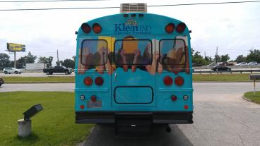 Klein ISD Reading Express bus wrap