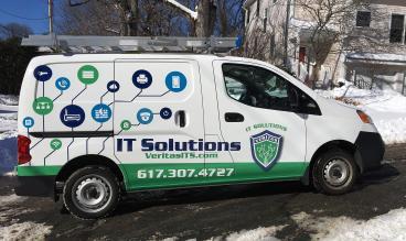 Veritas IT Solutions Vehicle Wrap
