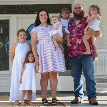 The Spray family Quitman, Georgia