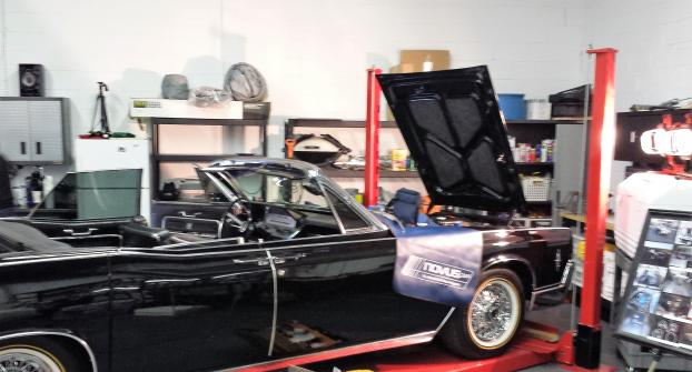 This '66 Lincoln Continental received a new windshield the other day.