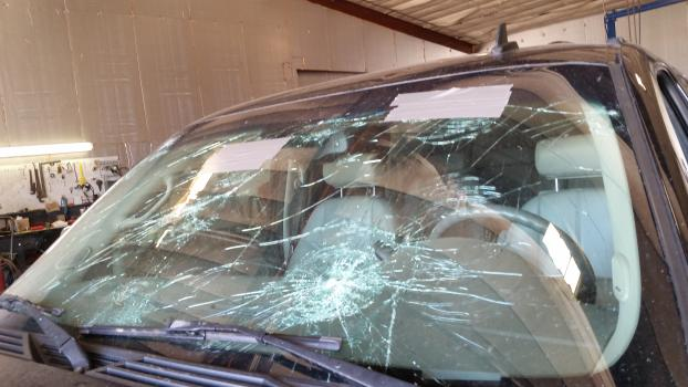 The windshield is one of the biggest safety restraint systems in your vehicle during a crash.