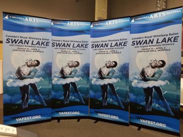 Virginia Arts Festival Swan Lake Retractables