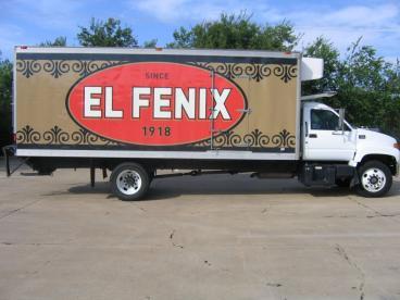 El Fenix Vehicle Wrap Dallas Texas