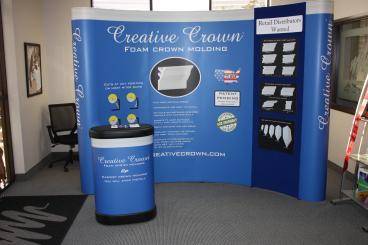 Creative Crown Trade Show Display Dallas Texas
