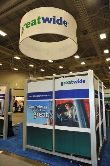Great Wide Trade Show Display Dallas Texas