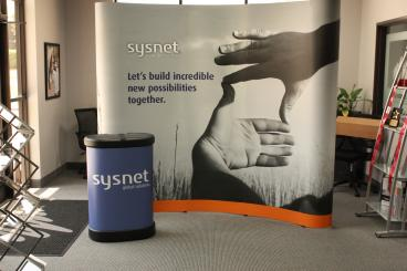 Sysnet Trade Show Display Dallas Texas