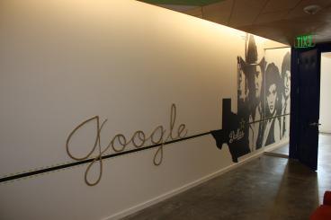 Google Wall Mural Dallas Texas
