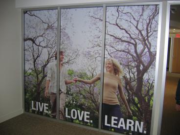 True.com Window Graphic Speedpro Irving Dallas Texas