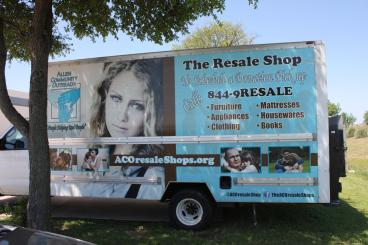 The Resale Shop Vehicle Wrap Speedpro Irving Dallas Texas