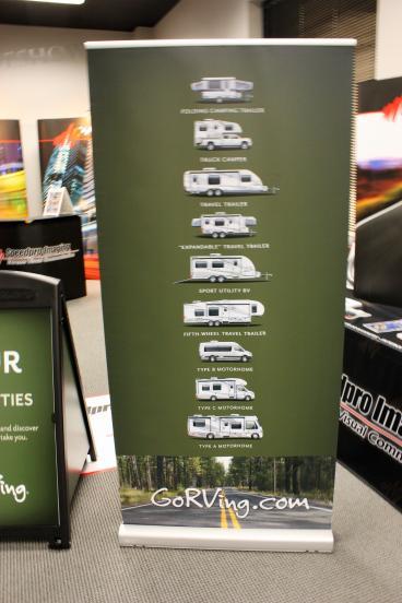 GORVing Trade show banner Speedpro Irving