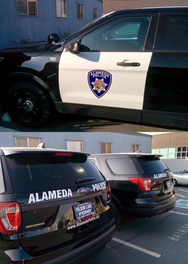 Alameda Police decals