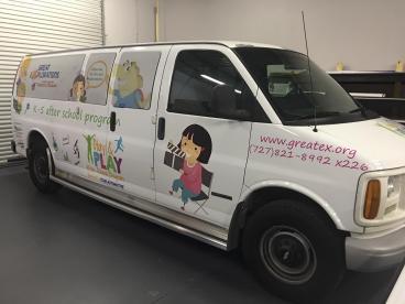 Daycare Van Wrap