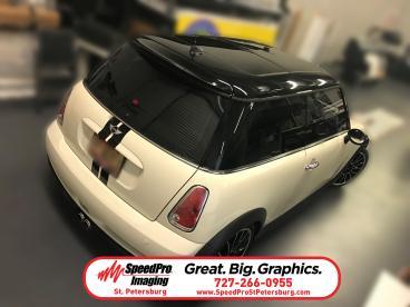 Mini Cooper Racing Stripes