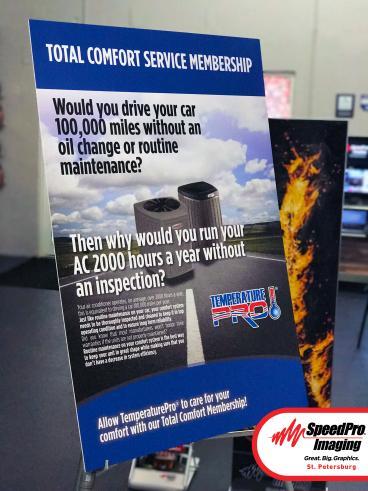 Indoor Ad Signage