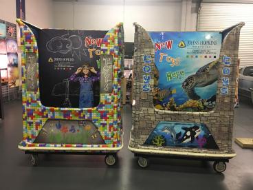 Donation Bin Toy Box Wraps