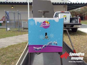 Snow Cone Machine Wrap