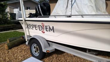 Custom Boat Graphics