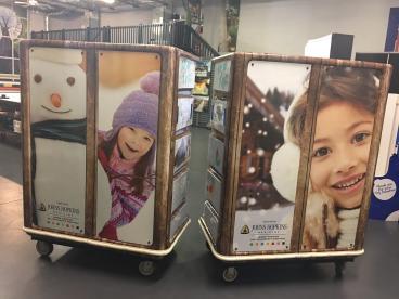 Toy Donation Bin Wraps