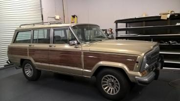 Woodgrain Vehicle Wrap