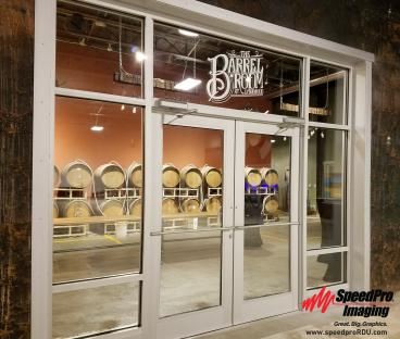 Lynnwood Brewing Concern Gets New Window Graphics