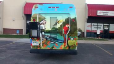 Arepa'sQueen Food Truck: Print and Install