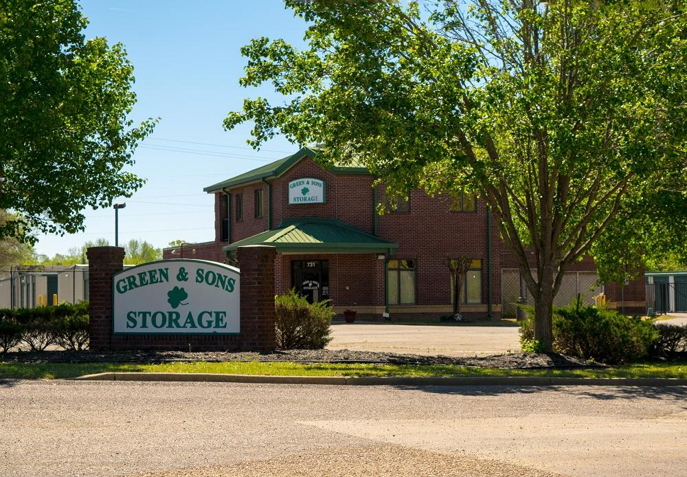 Green & Sons Storage: Where Collierville Stores!