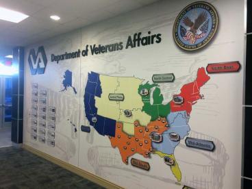 Wall Murals  Dept. of Veterans Affairs  Nashville