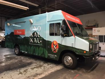 Food Truck Wrap - San Francisco Bay Area