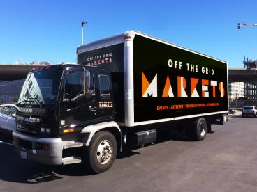 Off the Grid Truck Wrap - San Francisco Bay Area