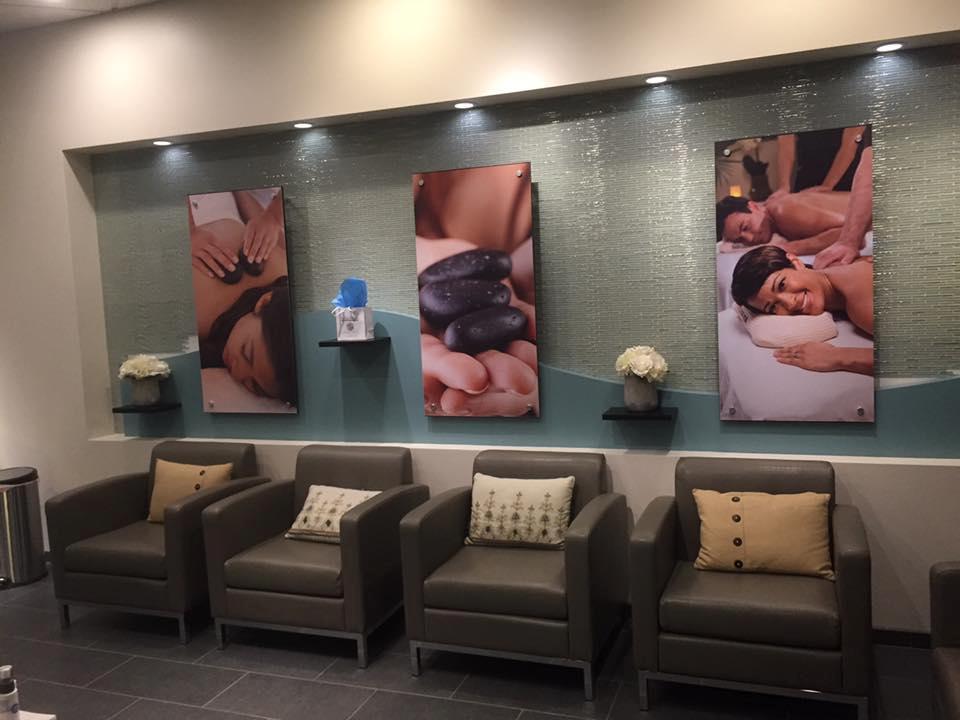 Hand & Stone Spa Portland NE lobby