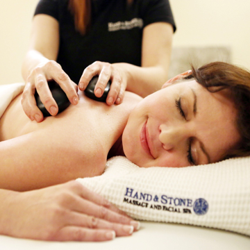 Hand & Stone Spa Portland NE, try our Hot Stone Signature Massage