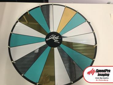 YOLO Rum Custom Prize Wheel