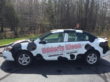 Udderly Kleen - Vehicle Wrap