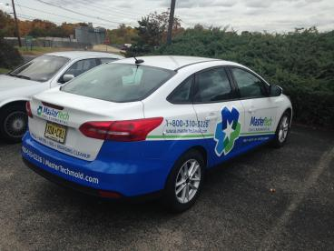 Partial Vehicle Wraps l South Jersey l SpeedPro Imaging