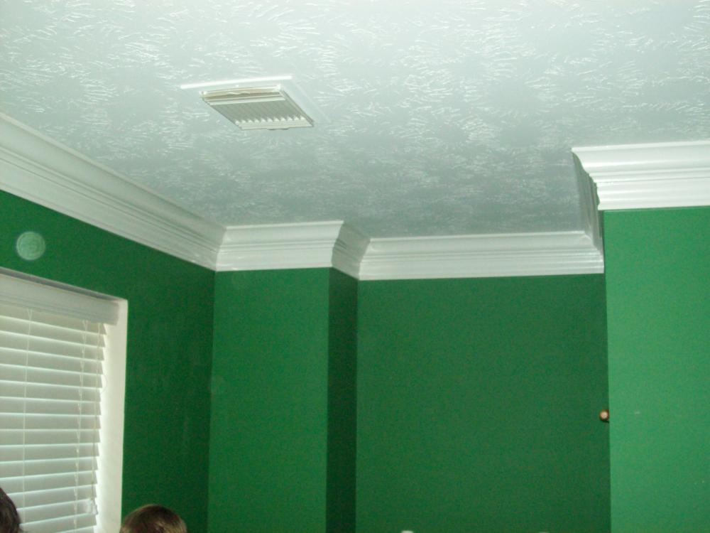 Kingwood Crown Molding Job