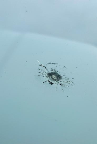 Did you know that once the rock ding spreads too far, the windshield needs replaced? Thumbnail