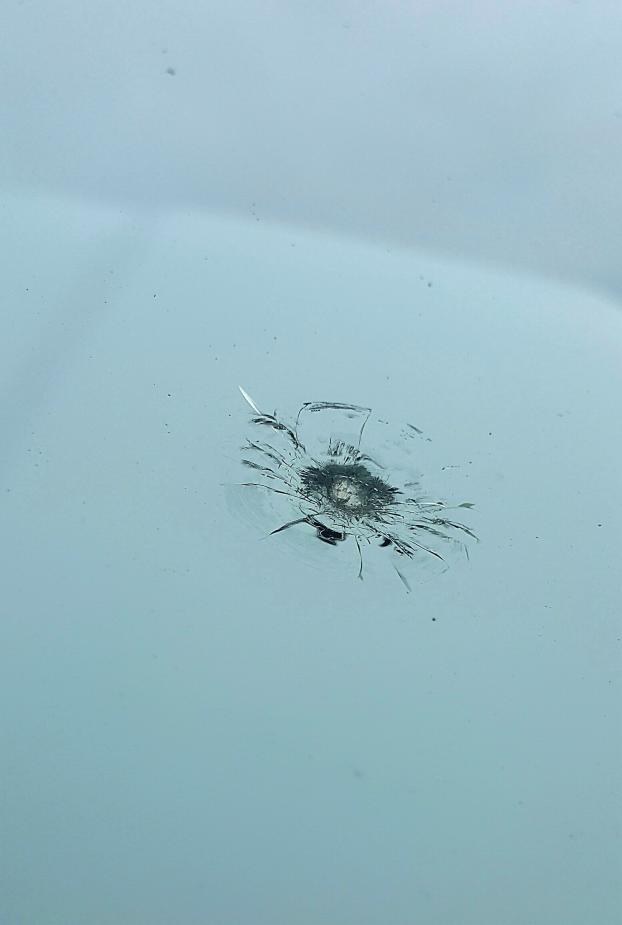 Did you know that once the rock ding spreads too far, the windshield needs replaced?