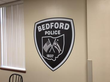 Bedford Police Wall Decal