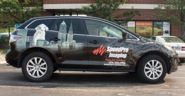 SpeedPro Vehicle Wrap