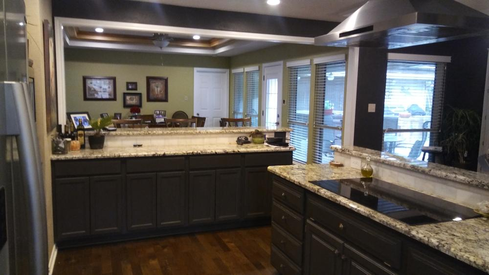 Kitchen Remodel, Tile, Flooring, Cabinetry. Mansfield, TX